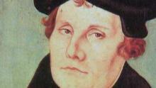 Un retrato de Martin Lutero